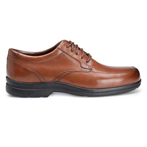 Drumlin Hill Moc Front Men's Dress Shoes in Brown