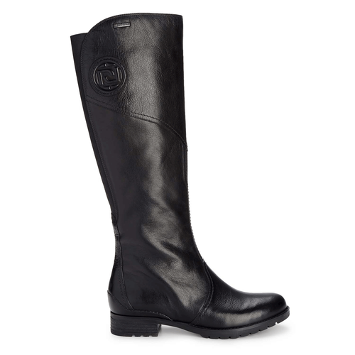 Tristina Gore Tall Boot Women's Boots in Black