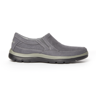 Get Your Kicks Perfed Slip-On in Grey
