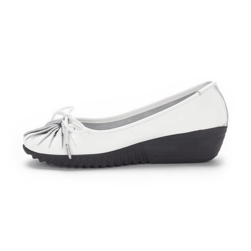 Evosa Tied Fan Women's Shoes in White