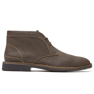 Urban Edge Plain Toe Chukka, DK BROWN