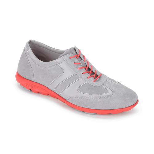 truWALKzero II T-Toe Lace Up, Women's Gray Sneakers