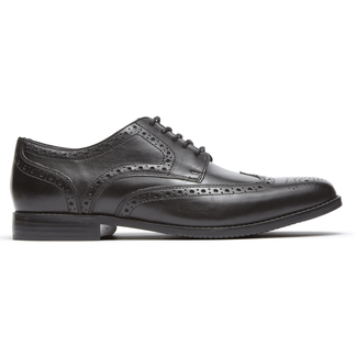 Style Purpose Wingtip in Black
