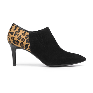 Total Motion Pointed Toe Shootie in Black