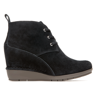 Total Motion Desert Boot Women's Boots in Black
