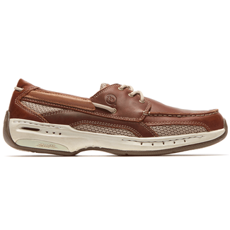Waterford Captain Boat Shoe in Brown