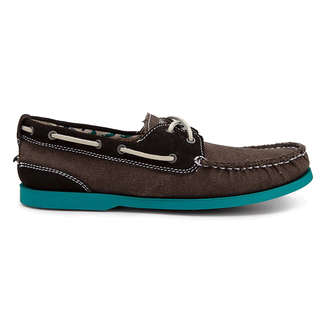 Coastal Springs 2 Eye Boat Men's Boat Shoes in Brown