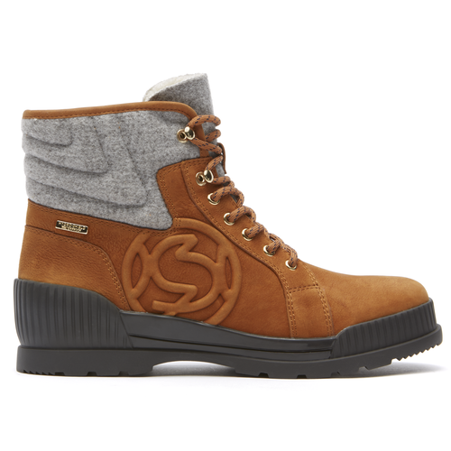 Aliana High Top Women's Boots in Brown