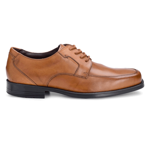 Ready For Business Moc Front Men's Dress Shoes in Brown