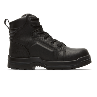 More Energy Lace to Toe Work Boots  Rockport  in Black