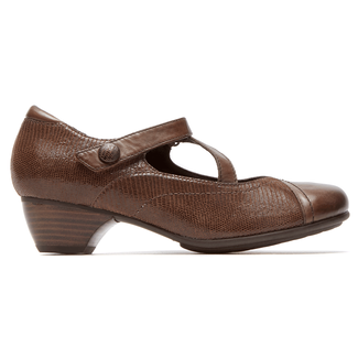 Provence Portia Mary Jane in Brown