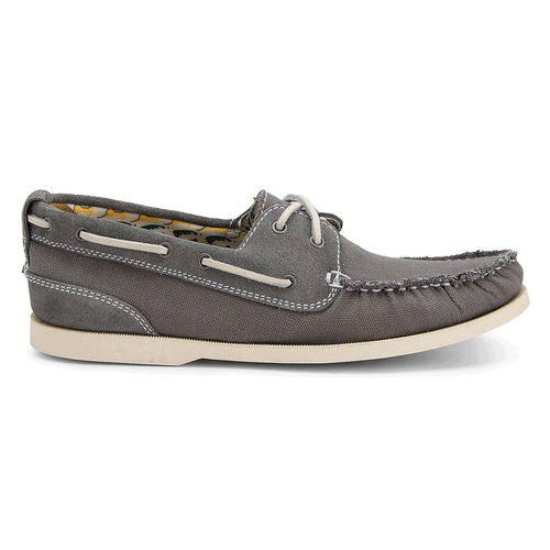Coastal Springs 2 Eye Boat Men's Boat Shoes in Grey