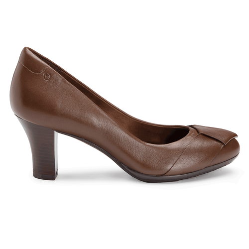 Ordella Knot Pump Women's Pumps in Brown