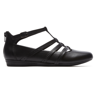 Gracie T-Strap Cobb Hill by Rockport in Black