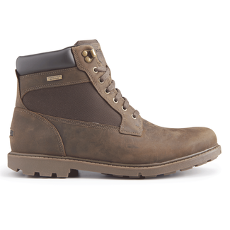 Rugged Bucks Waterproof High Boot in Brown