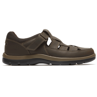 Get Your Kicks Fisherman Comfortable Men's Shoes in Brown