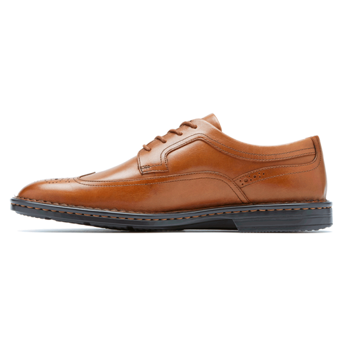 RocSports Lite Business Wingtip Men's Dress Casual Shoes in Brown