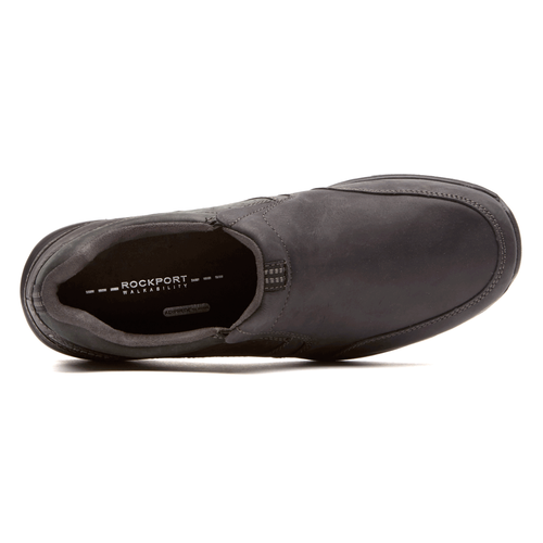 Make Your Path Slip On - Men's Black Sneakers