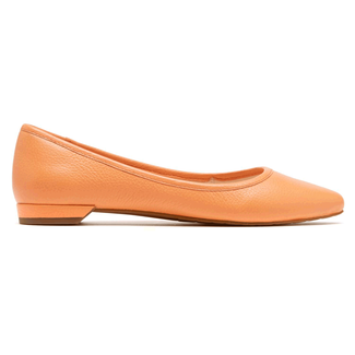 Ashika Scooped Ballet Women's Flats in Tan
