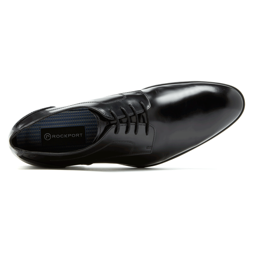Dialed In Plain ToeDialed In Plain Toe - Men's Balck Dress Shoes