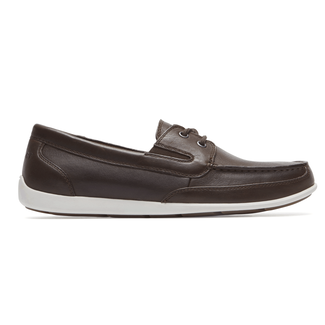 Bennett Lane IIII Boat Shoe Comfortable Men's Shoes in Brown