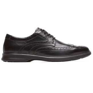 DresSports 2 Lite Wingtip, BLACK LEATHER