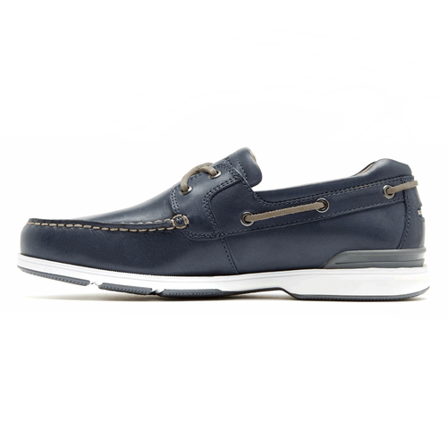 Off The Coast 2 Eye Men's Boat Shoes in Navy