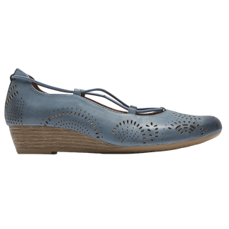 Cobb Hill Judson Cross Wedge, MOROCCAN BLUE NBK