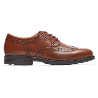 Essential Details Waterproof WingtipEssential Details Waterproof Wingtip, TAN ANTIQUE LEA