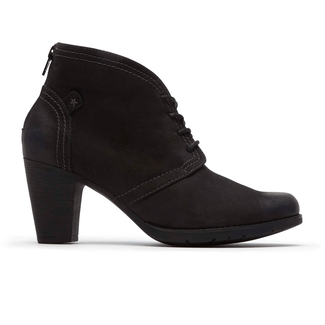 Keara Heeled Bootie Cobb Hill by Rockport in Black