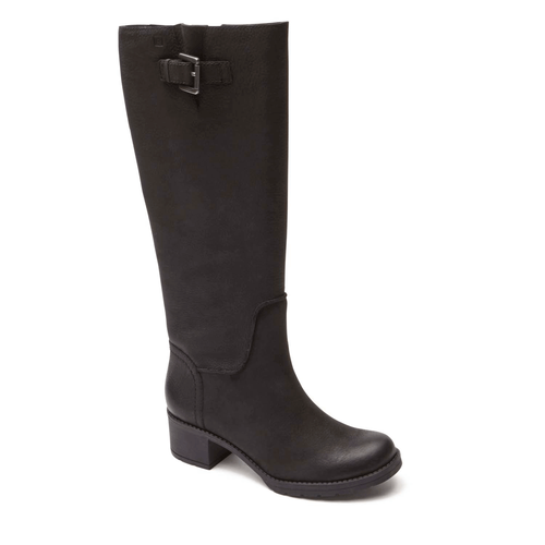 City Casuals Rola Tall Boot in Black