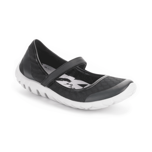 truWALKzero Mary Jane, Black Mesh