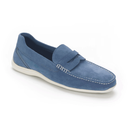 DriveSports Penny Men's Slip On Shoes in Navy