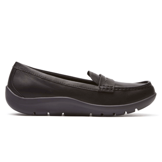 Rockport Women's Black Moreza Penny Loafer