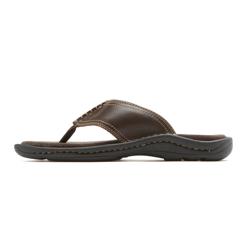 Kevka Lake Thong Men's Sandals in Brown