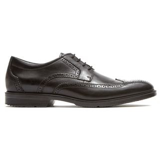 City Smart Wingtip Men's Dress Shoes in Black