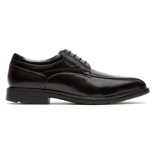 Insider Details Waterproof Bike Toe Oxford Men's Oxfords in Black