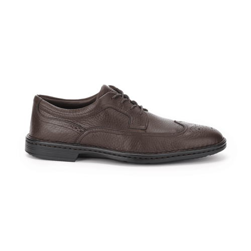 RocSports Lite Business Wingtip, Men's Brown Dress Shoes