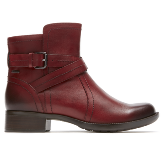 Caroline Waterproof Boot by Rockport in Red