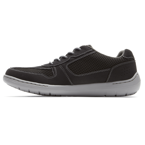 FitSmart U Bal Extended Size Men's Shoes in Black