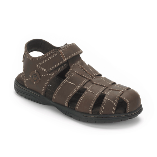 River Heights Fisherman Men's Sandals in Brown