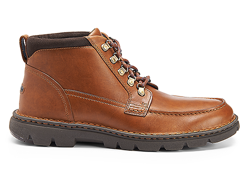 RocSports Lite Rugged Moc Boot, BRITISH TAN