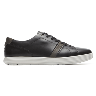 Thurston Lace-Up Comfortable Men's Shoes in Black