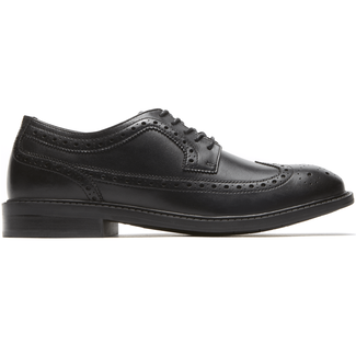 Grafton Grayson Wingtip in Black