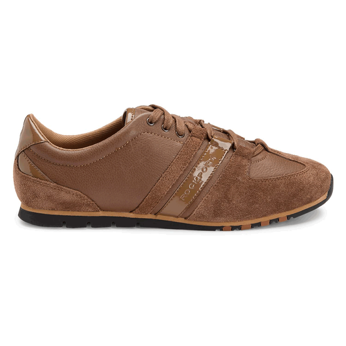 Zalee Wtip Lace Up Women's Sneakers in Brown