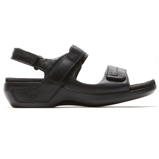 Power Comfort Katy Sandals in Black