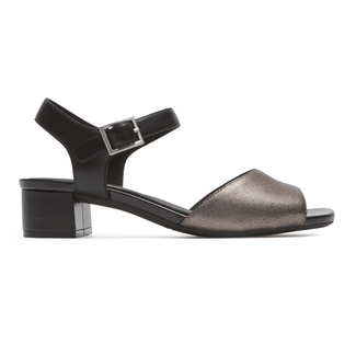 Total Motion Sandal Comfortable Women's Shoes in Black