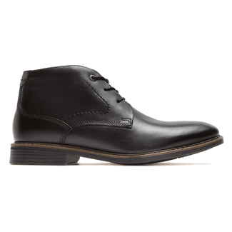 Classic Break Chukka, BLACK LEATHER