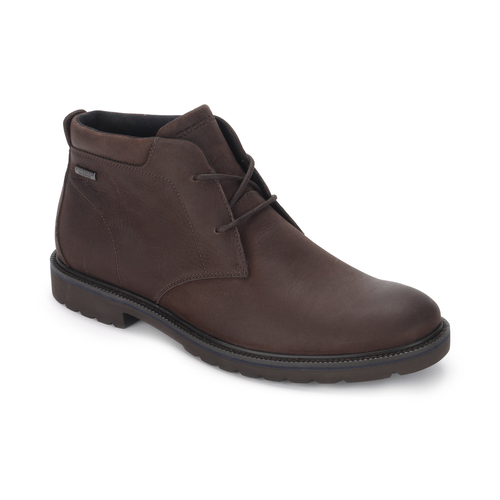 Ledge Hill Waterproof Chukka Men's Boots in Brown
