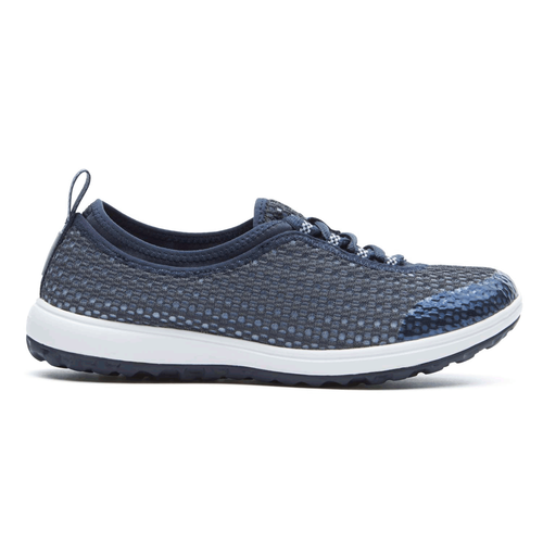 WALK360 Washable Laceup in Navy